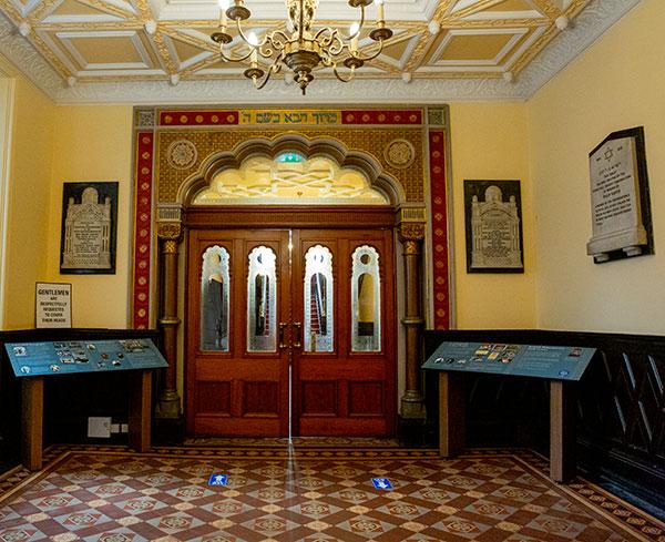 Foyer Doors and Displays