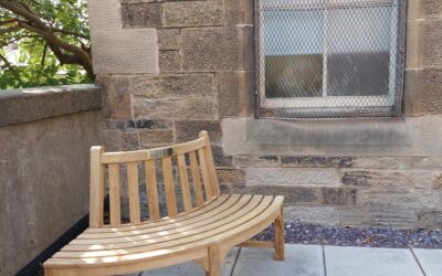 Gerald Levin Memorial Bench unveiled in the Courtyard of the Scottish Jewish Heritage Centre